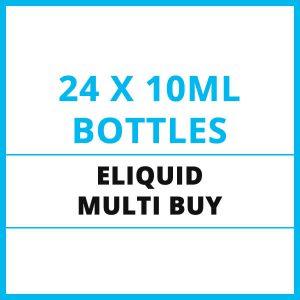 24 x E-Liquid Multi Buy Offer