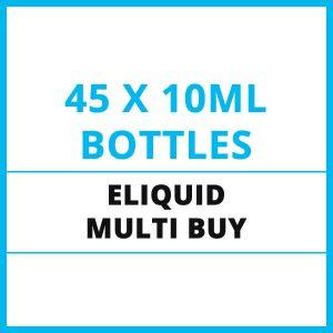 45 x E-Liquid Multi Buy Offer