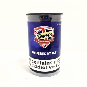 Blueberry Ice E-Liquid by Simply Vapour