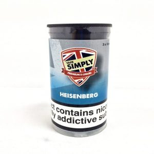 Heisenberg E-Liquid by Simply Vapour