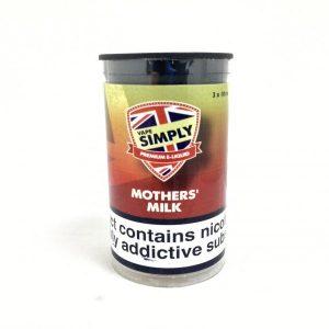 Mothers Milk E-Liquid by Simply Vapour