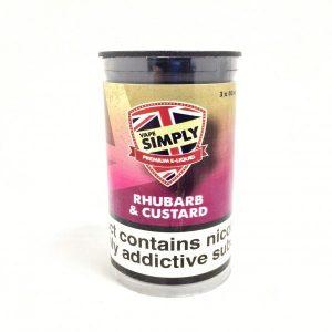 Rhubarb and Custard E-Liquid by Simply Vapour