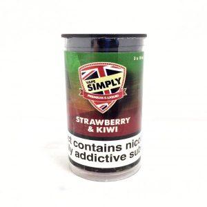 Strawberry & Kiwi E-Liquid by Simply Vapour