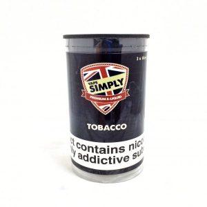 Tobacco E-Liquid by Simply Vapour