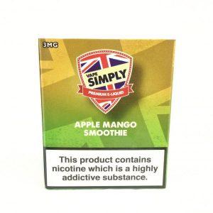 Apple & Mango Smoothie Eliquid by Simply Vapour