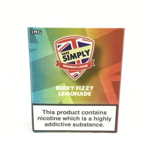 Berry Fizzy Lemonade E-Liquid by Simply Vapour