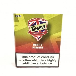 Berry Sorbet E-Liquid by Simply Vapour