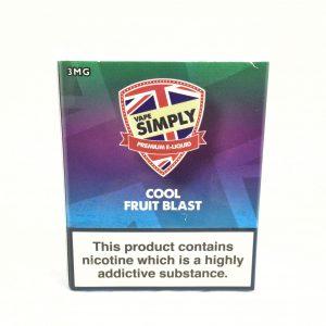 Cool Fruit Blast E-Liquid by Simply Vapour