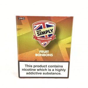 Fruit Bonbons E-Liquid by Simply Vapour