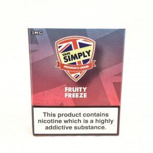 Fruity Freeze E-Liquid by Simply Vapour