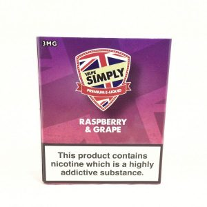 Raspberry & Grape E-Liquid by Simply Vapour