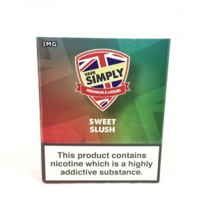 Sweet Slush E-Liquid by Simply Vapour