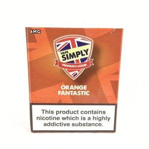 Orange Fantastic E-Liquid by Simply Vapour