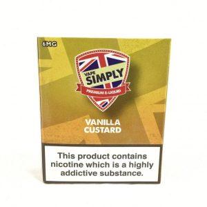 Vanilla Custard E-Liquid by Simply Vapour
