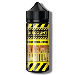 Discount E-Liquid Warehouse – Caramel Vanilla {Ice-Cream Collection}