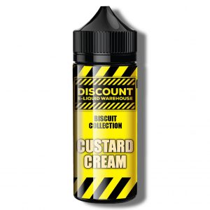 Discount E-Liquid Warehouse – Custard Cream {Biscuit Collection}