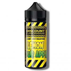 Discount E-Liquid Warehouse – Lemon Sour Apple {Candy Burst Collection}